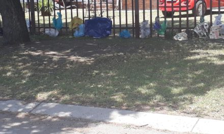 Residents complain of landfill rubbish