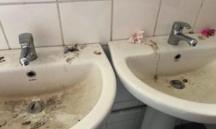 Public School toilets become a no-go area