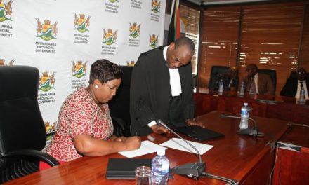 Ms Refilwe Mtshweni sworn in Mpumalanga Premier