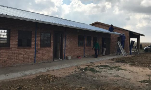 Van Stadens Dam Primary School gets revamped