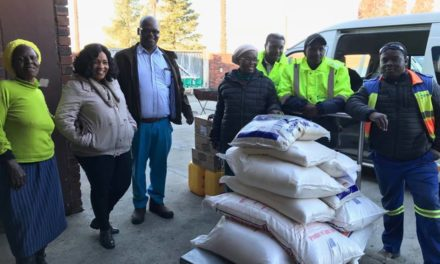 Evander Gold Mine donates food to local organisations