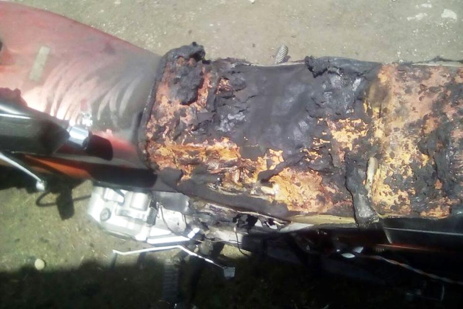 Alleged Targeted Man Loses his Motorbike