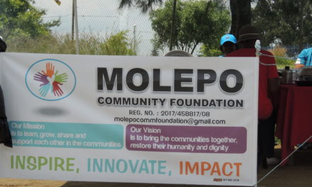 Molepo community foundation Fundraising