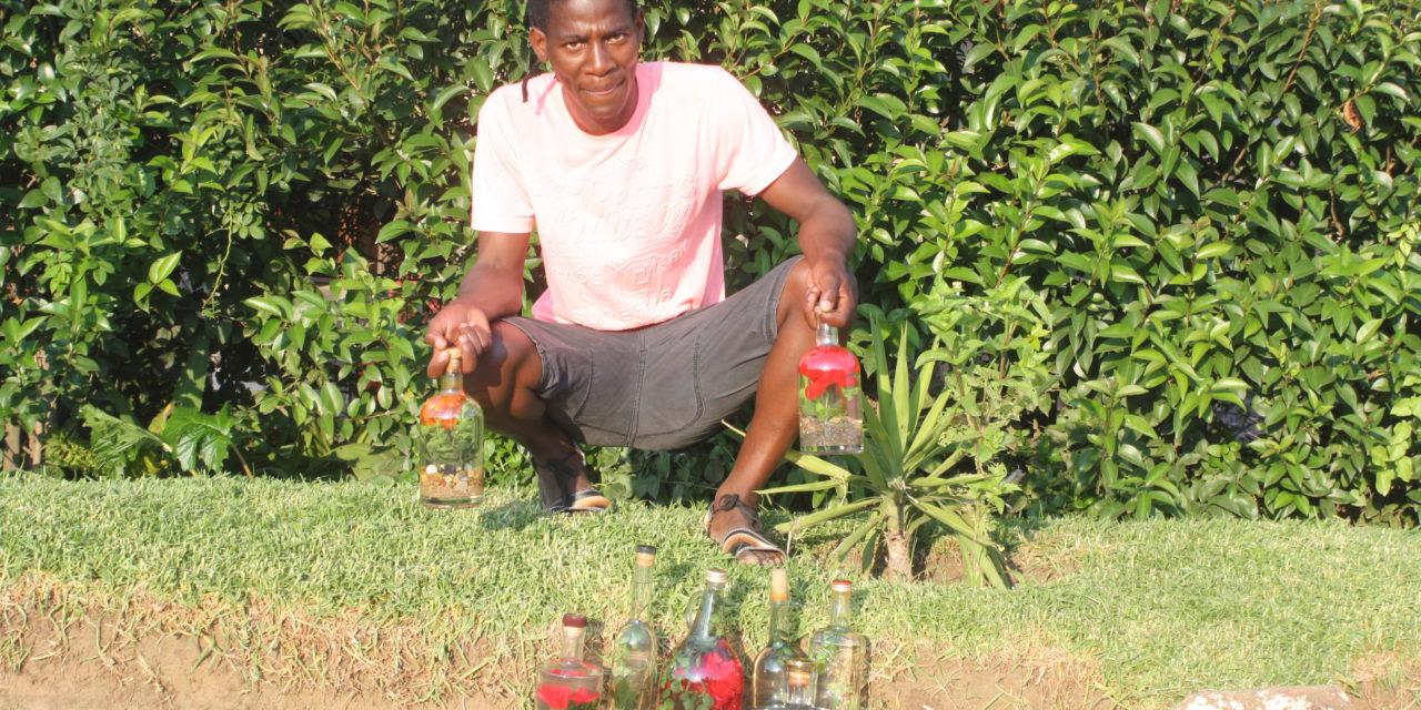 Vilakazi pushes his Decor Bottles project