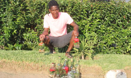 Vilakazi pushes his Decor Bottles project