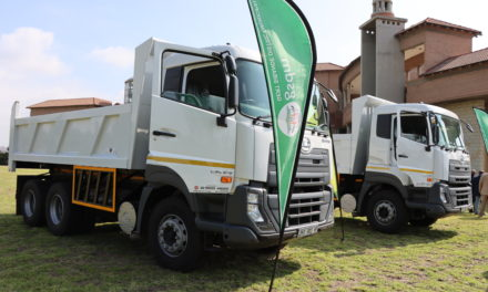 GSDM hands over tipper trucks