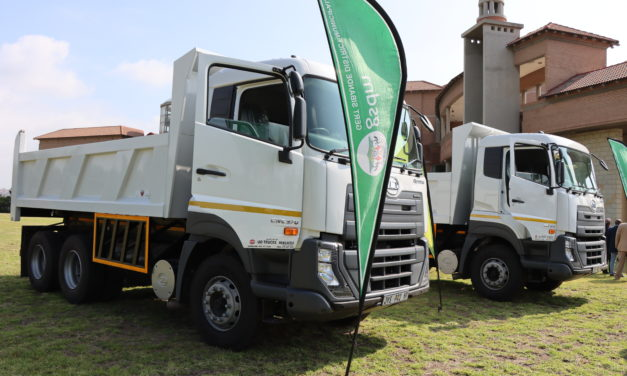 GSDM hands over tipper trucks