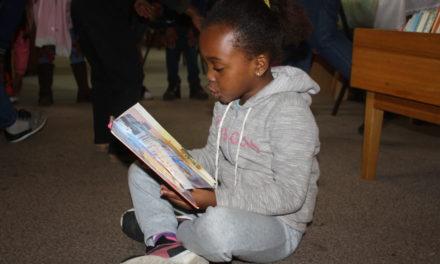 Library hosts Laerskool Kinross learners