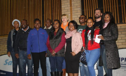 Sasol in partnership with GMCSR Forum had a Winter Warm Drive