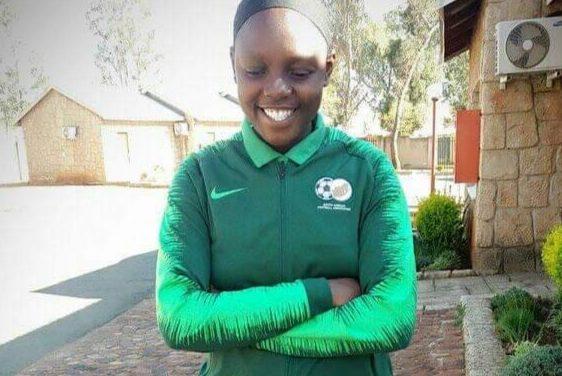 Leandra born soccer star represents SA