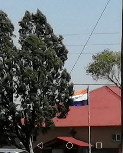 Residents outraged by the use of old SA flag