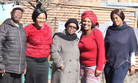 Sifiso sabadala Old Age Home receive donations from Sasol