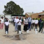 Sadtu donates masks and sanitizers to schools