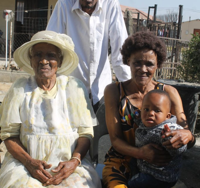 Gogo Nkosi celebrates 105 years birthday