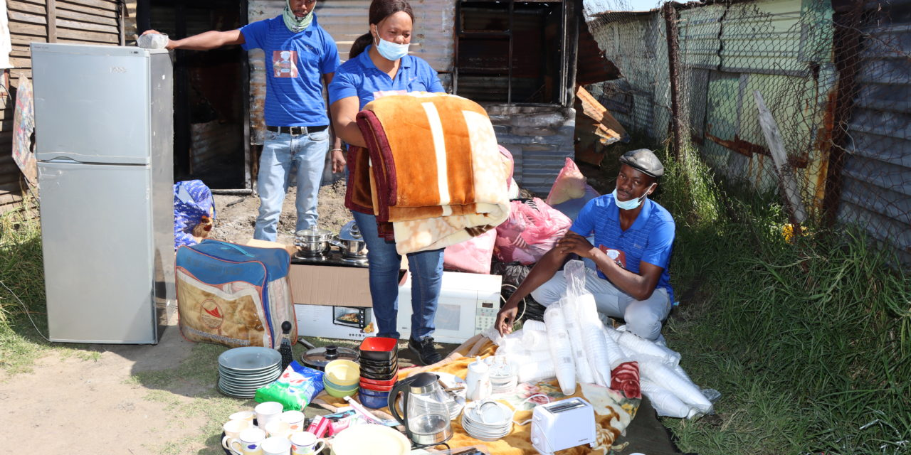 NDP Foundation reaches out to the bereaved family in Embalenhle
