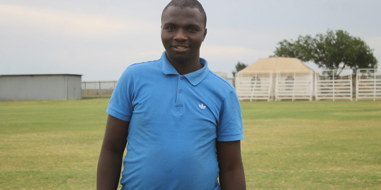 Tshepo would like to see more women play football