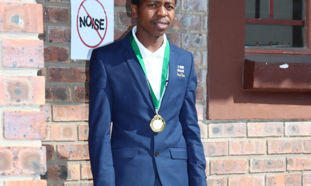 Njabulo represents the province at National TVET Colleges debate championship