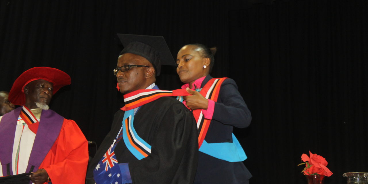 Theology students graduate