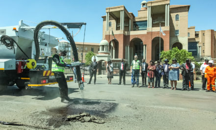 District declares war on potholes