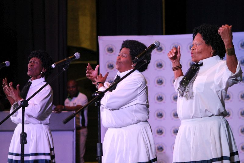 GMM Senior citizens celebrate Human Rights Day in style