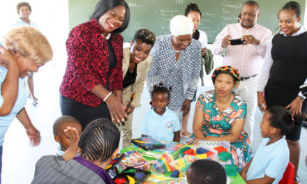 Kuhlekwethu Receives Mobile Classrooms