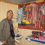 local young designer redefines African print
