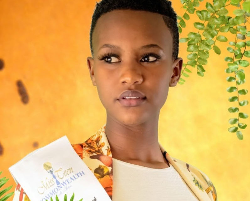 Luyanda is Miss Teen Commonwealth SA 2021 Finalist