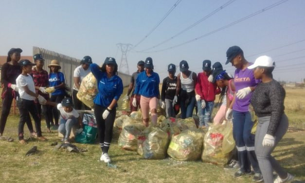 Soar Girl Child takes part in World Cleanup Day