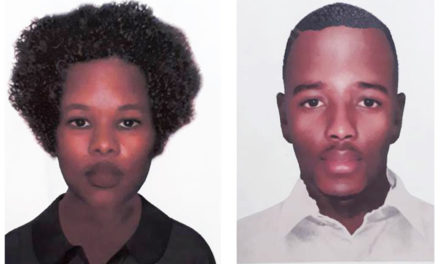 Secunda police are looking for two suspects male and female